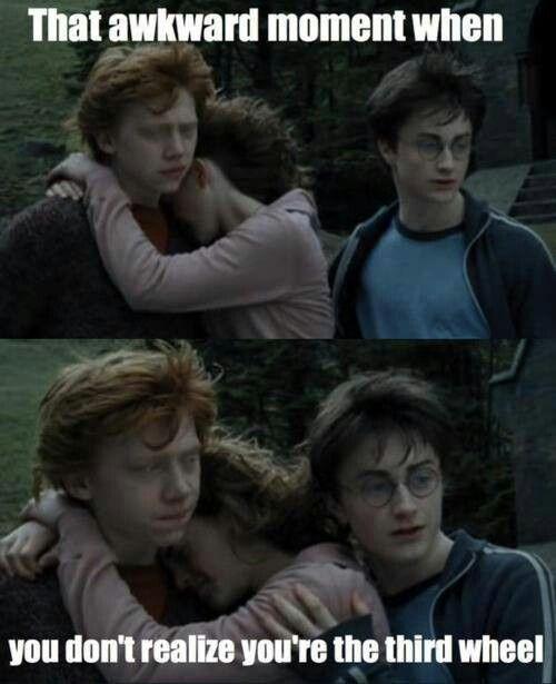 Relatable Harry Potter Crushes Relationships Third Wheel Harry Potter Memes Hilarious Harry Potter Jokes Harry Potter Fan