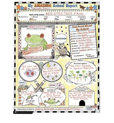 Animal Report Poster Animal Report Animal Book Learning Poster