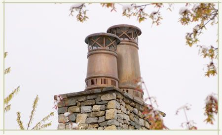 Chimney Flue Rain Caps French Style Homes Architecture