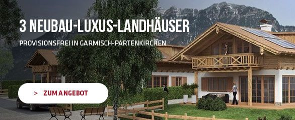 Luxus-Landhäuser in Garmisch-Partenkirchen Wohnen, wo andere - luxus landhuser