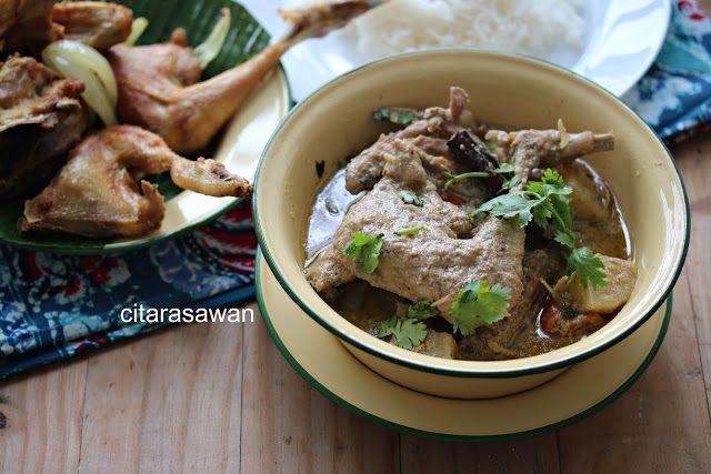 Ayam Masak Kurma Resipi Citarasawan Makanan Resep Makanan Ayam
