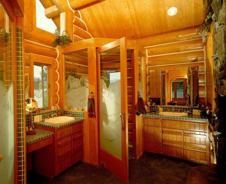 Bathroom Designs By Rocky Mountain Log Homes Bathroom designs and Logs