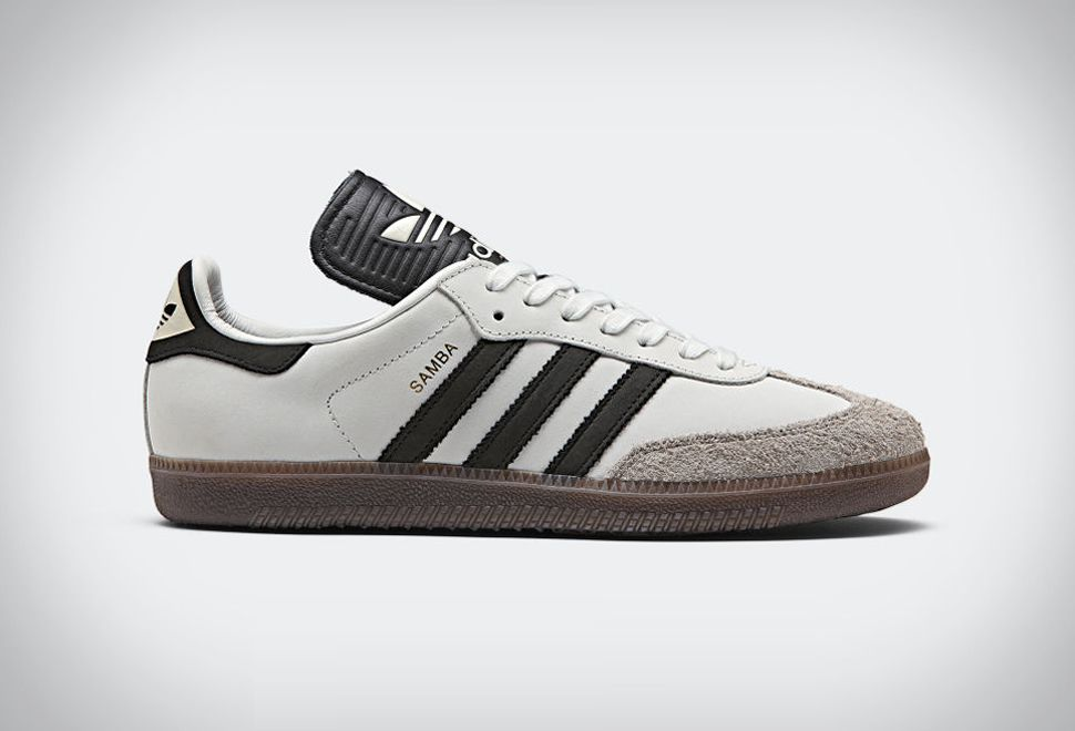 Men Size 12 White//Black//Gum Soccer//Casual Shoes *NEW* Adidas Samba Classic