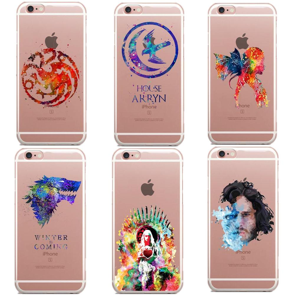 Game Of Thrones iPhone Case Watercolor Art   Iphone cases, Phone ...