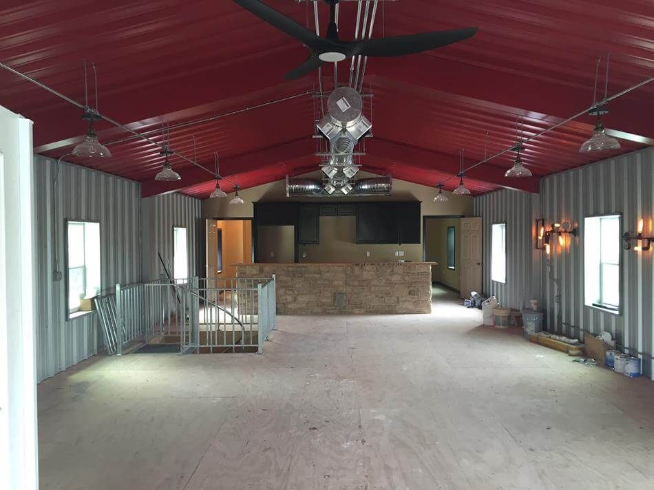 Man Cave Victoria Tx : Metal buildings with living quarters residential steel