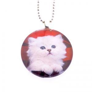Cute kitten necklace