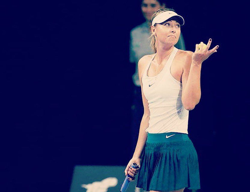 Masha Maria Sharapova New Tennis Women Outfit Nike Tennis Gear Tennis Clothes Maria Sharapova Tennis Players Female
