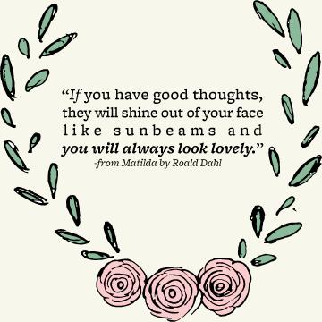 A good reminder from Roald Dahl