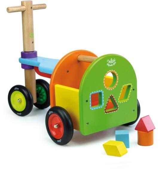 Triciclo didáctico de madera