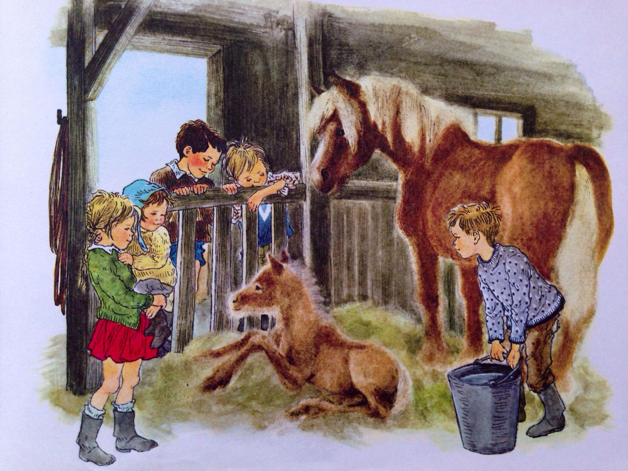 Ilon Wikland: Die Kinder von Bullerbü von Astrid Lindgren. | kunst ...
