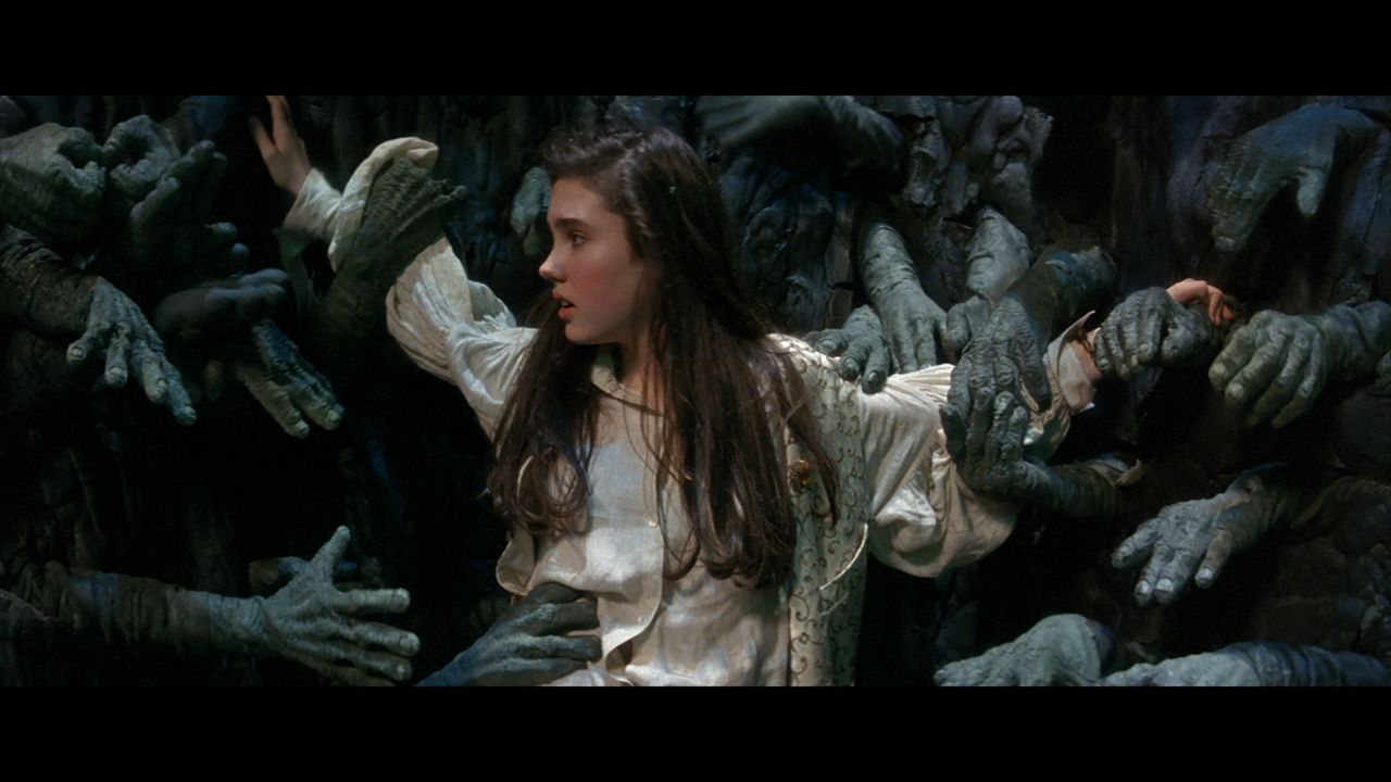 Image result for scene of labyrinth with the hands