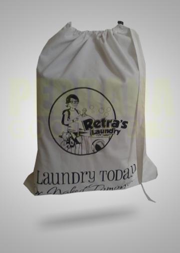 Drawstring Bag Custom Untuk Laundry Bag Tas Serut Tas Goody Bags