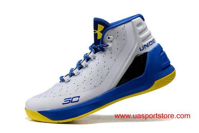 50716ccdd48a 889e3 e5c6a  get under armour ua curry 3 dub nation home ultra blue  basketball shoes for men 71760