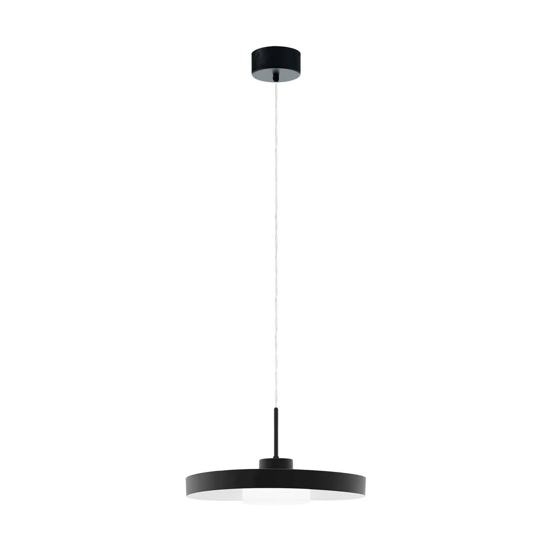 Led Pendelleuchte Alpicella Schwarz Satiniert O40cm H 150cm Lamp Decor Interior Lighting Indoor Lighting
