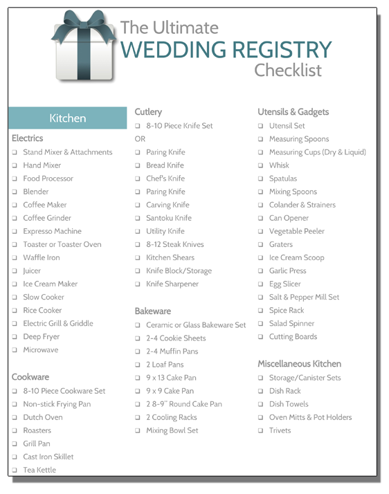 Wedding Registry Checklist Registryfinder Com Checklist Registry Wedding In 2020 Wedding Registry Checklist Wedding Registry Wedding Registry Checklist Printable