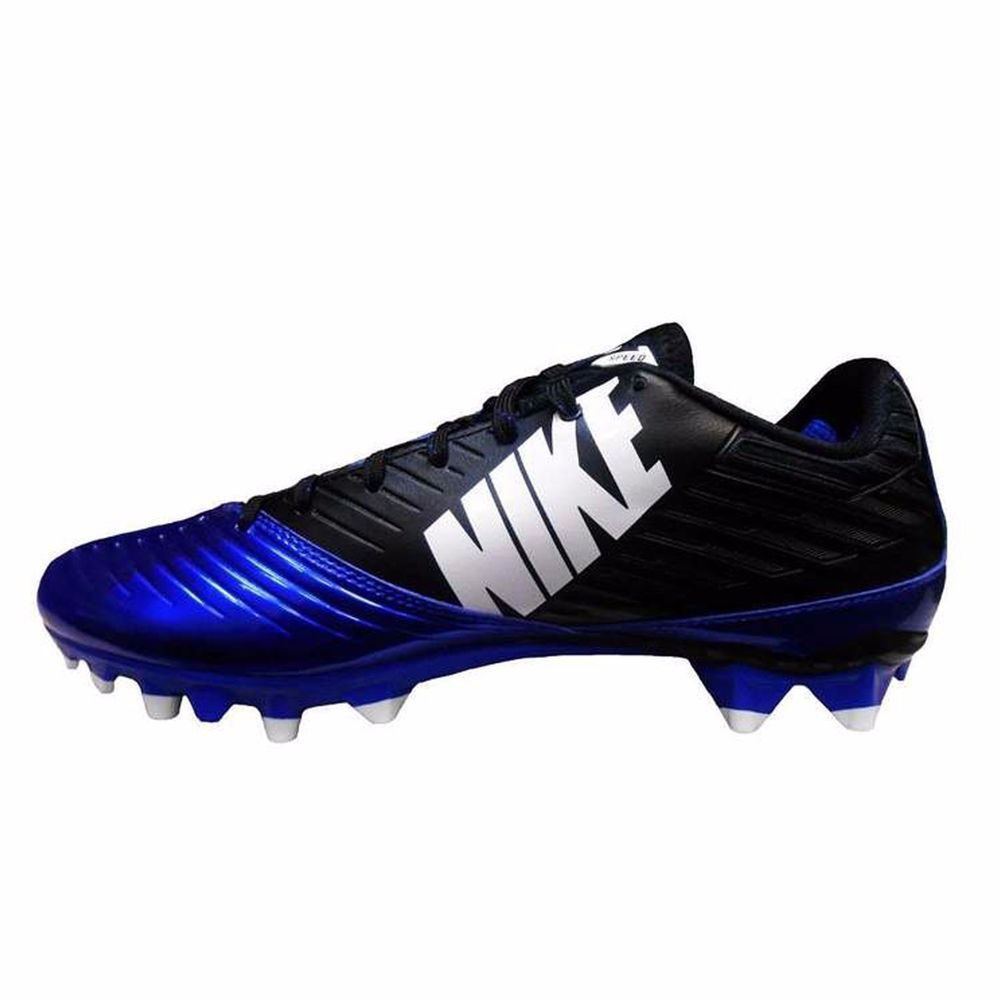 f33a0df59eda Nike Vapor Speed Low TD Football Cleat Sport Royal White Men s 14.5 NEW  Nike  Mens