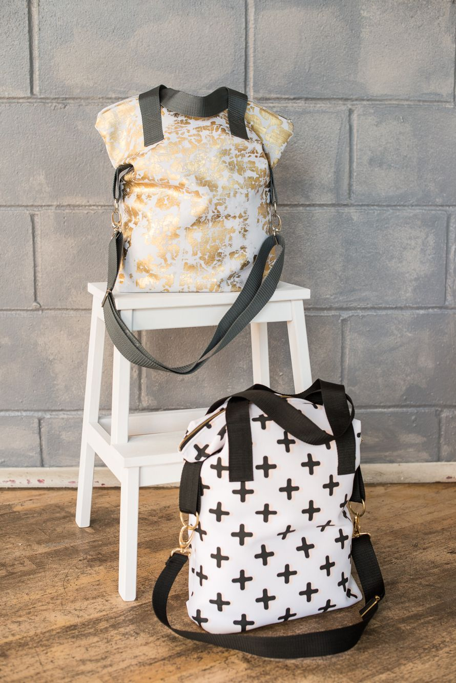 Alice totes also in grey/gold