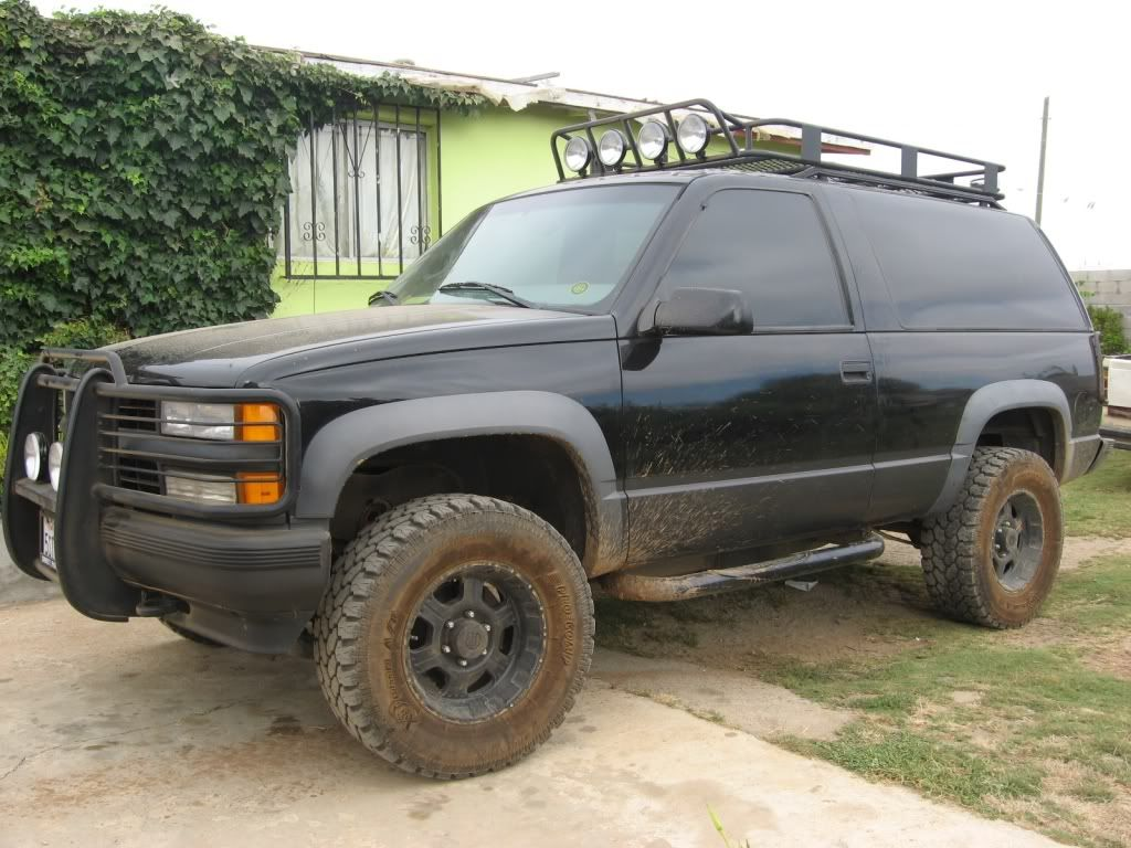 Tahoe 2004 chevy tahoe front bumper : Good Roof Rack for Canoe | Truck | Pinterest | Roof rack, 4x4 and ...