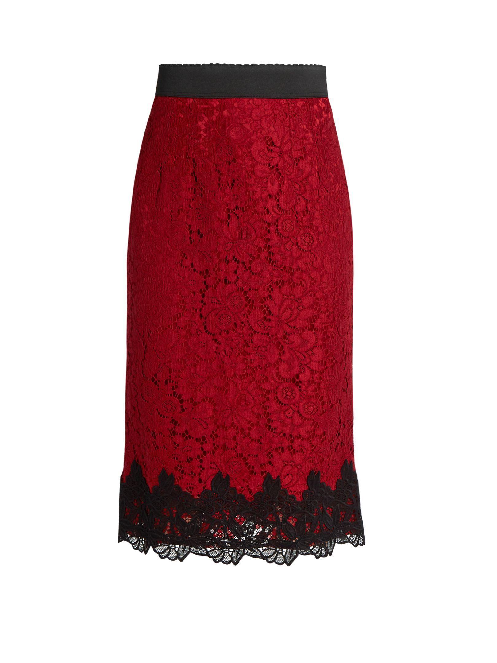 2ab93dc2b DOLCE & GABBANA Cordonetto-lace pencil skirt | Dresses in 2019 ...