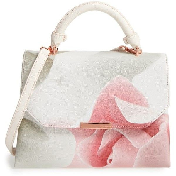 19addc110e Women's Ted Baker London Callita Satchel ($185) ❤ liked on Polyvore  featuring bags, handbags, nude pink, nude handbags, structured handbags,  pink handbags, ...