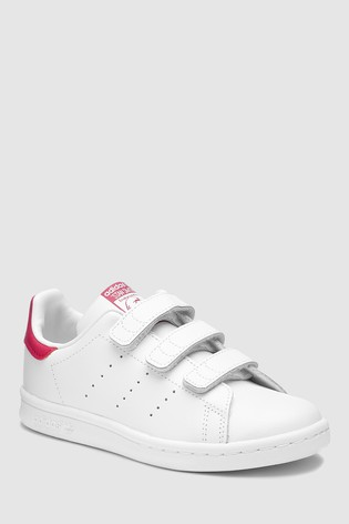 Suavemente Boda emoción  Buy adidas Originals Stan Smith Junior Trainers from Next USA | Pink adidas,  Adidas fashion, Adidas originals stan smith