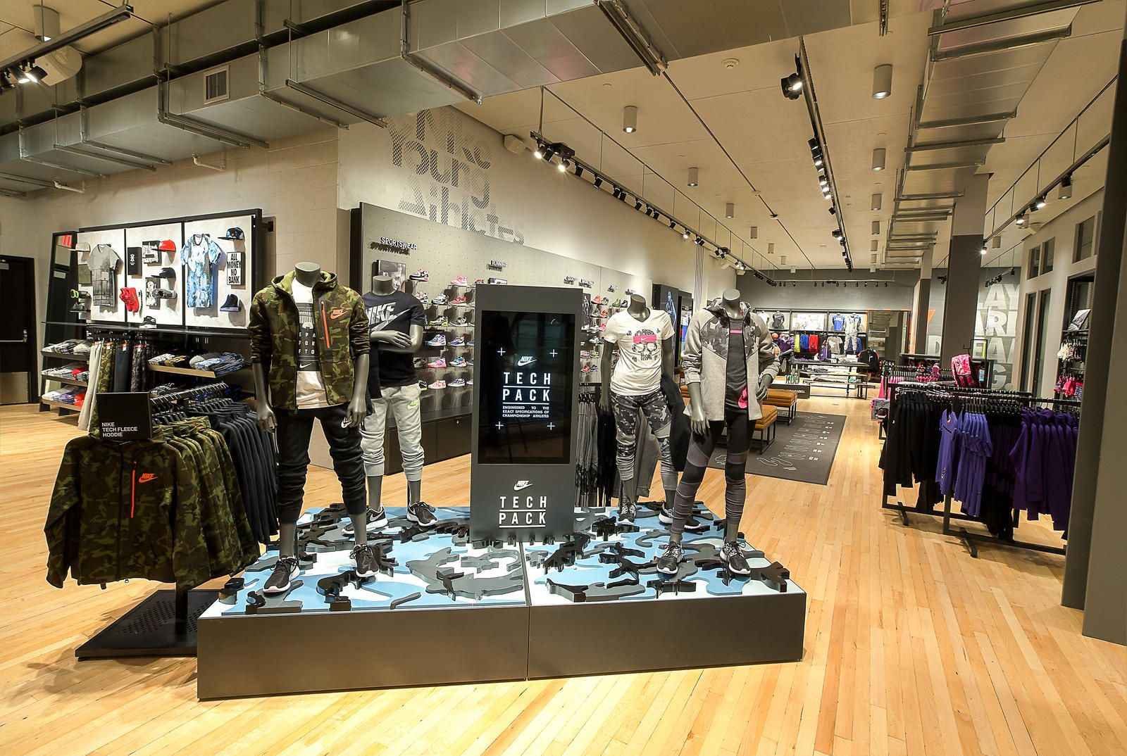 Nike Union Street Opens May 16 in San Francisco | San francisco and Store  design