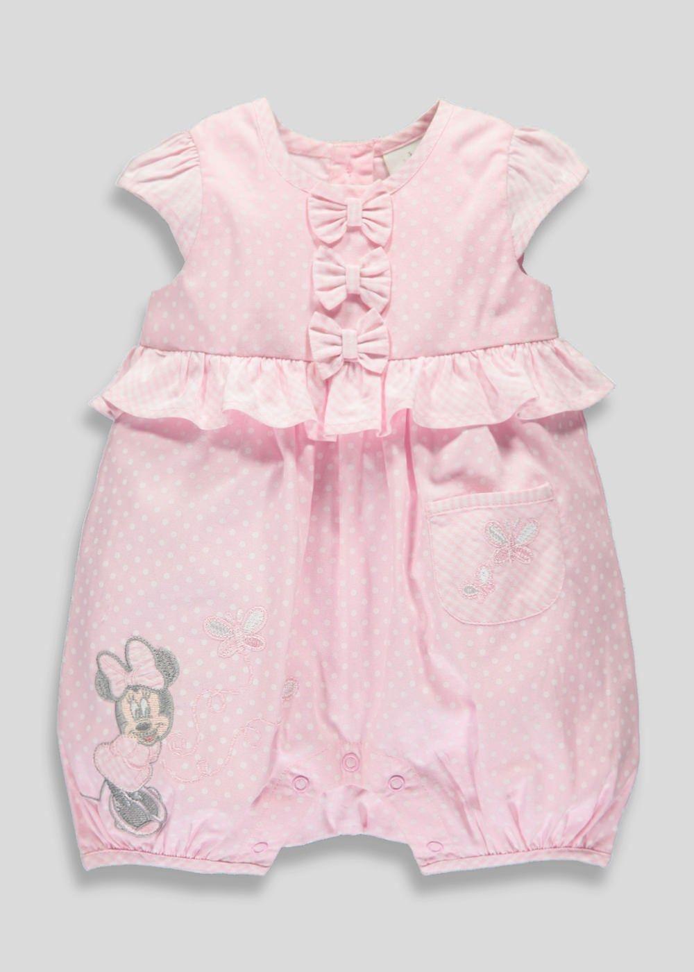 cb59c6b7f3eb Kids Disney Minnie Mouse Romper (Newborn-18mths) - Matalan