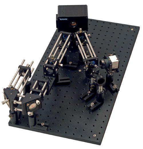 Thorlabs adaptive optics deformable mirror and shack