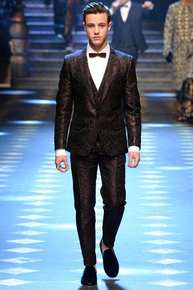 Dolce Gabbana Fashion Show Milan Moda Uomo Cameron Dallas Moda Uomo Inverno