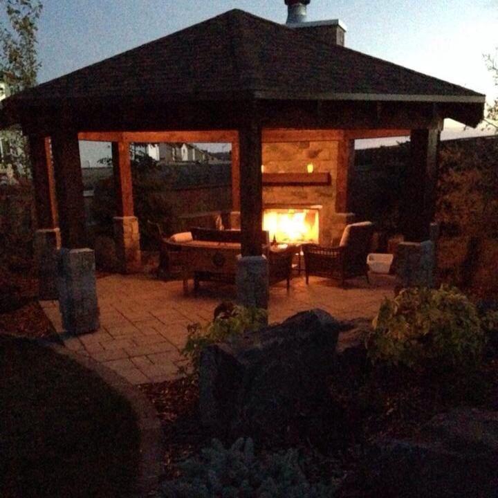 Outdoor Living Room Gazebo 2