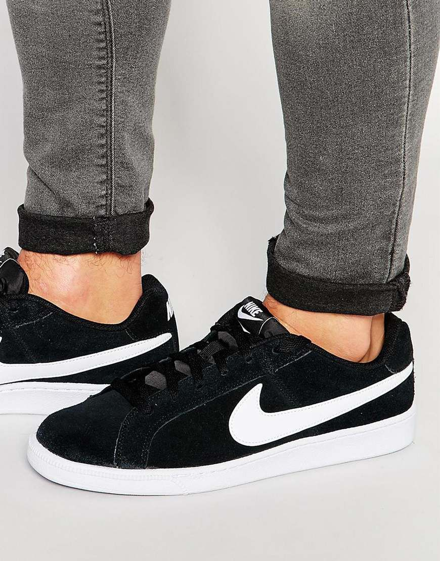 Nike Court Royale Suede Trainers 819802-011 at asos.com