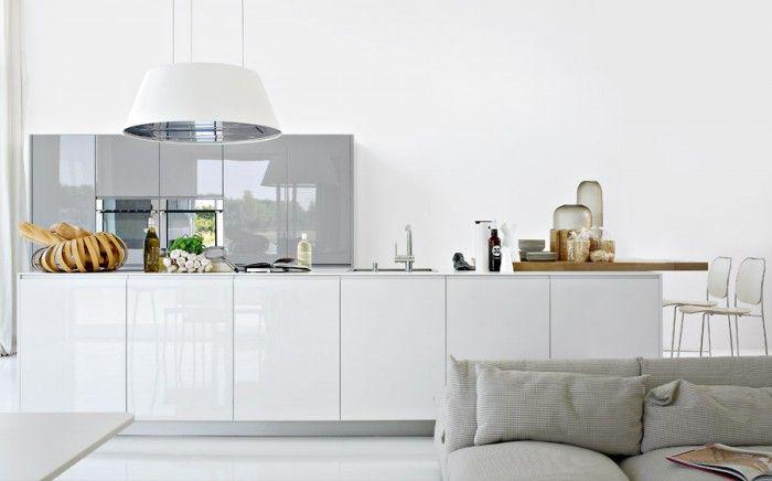 Keuken witte keuken met grijs werkblad : 1000+ images about Keuken ...