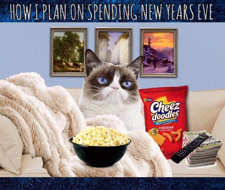How Grumpy Plans On Spending New Years Eve 🎉🥂 🎩 Grumpy