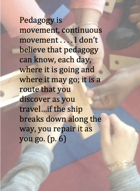 essay on reggio emilia approach The reggio emilia approach, a constructivist approach, is related to constructivist theorists such as piaget and vygotsky piaget and vygotsky offer theories on ways.