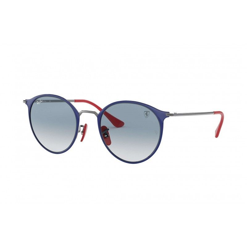 c04ef95db2 Gafas de sol RAY BAN Ferrari 3602M Azul Gunmetal - Azul Claro Degradado