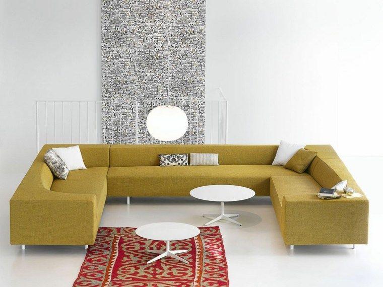 Canape Moderne 75 Modeles Pour Un Salon Tendance Avec Images Canape Pour Petit Salon Canape Angle