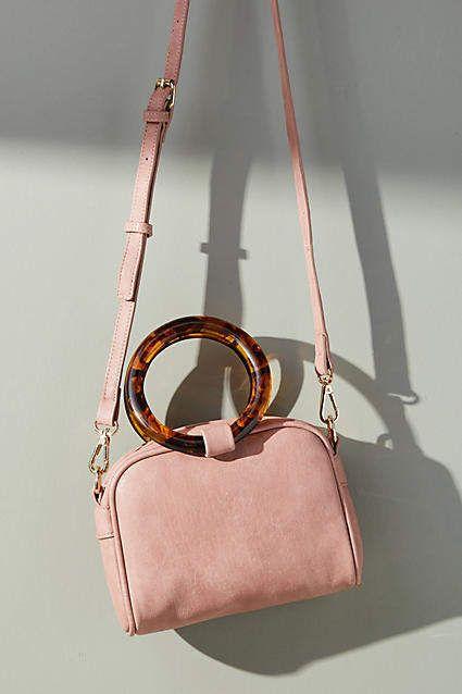 f8c7145177 Anthropologie Lucite-Handled Mini Crossbody Bag