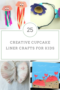 25 Cute and Creative Cupcake Liner Crafts for Kids! - Kreative in Life