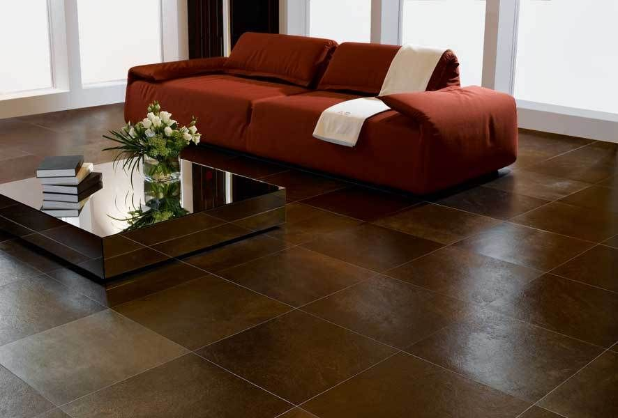 Luxury House Ceramic Floor Tiles Design Neat Fast Living Room Tiles Floor Design Brown Tile Floor New living room flooring ideas