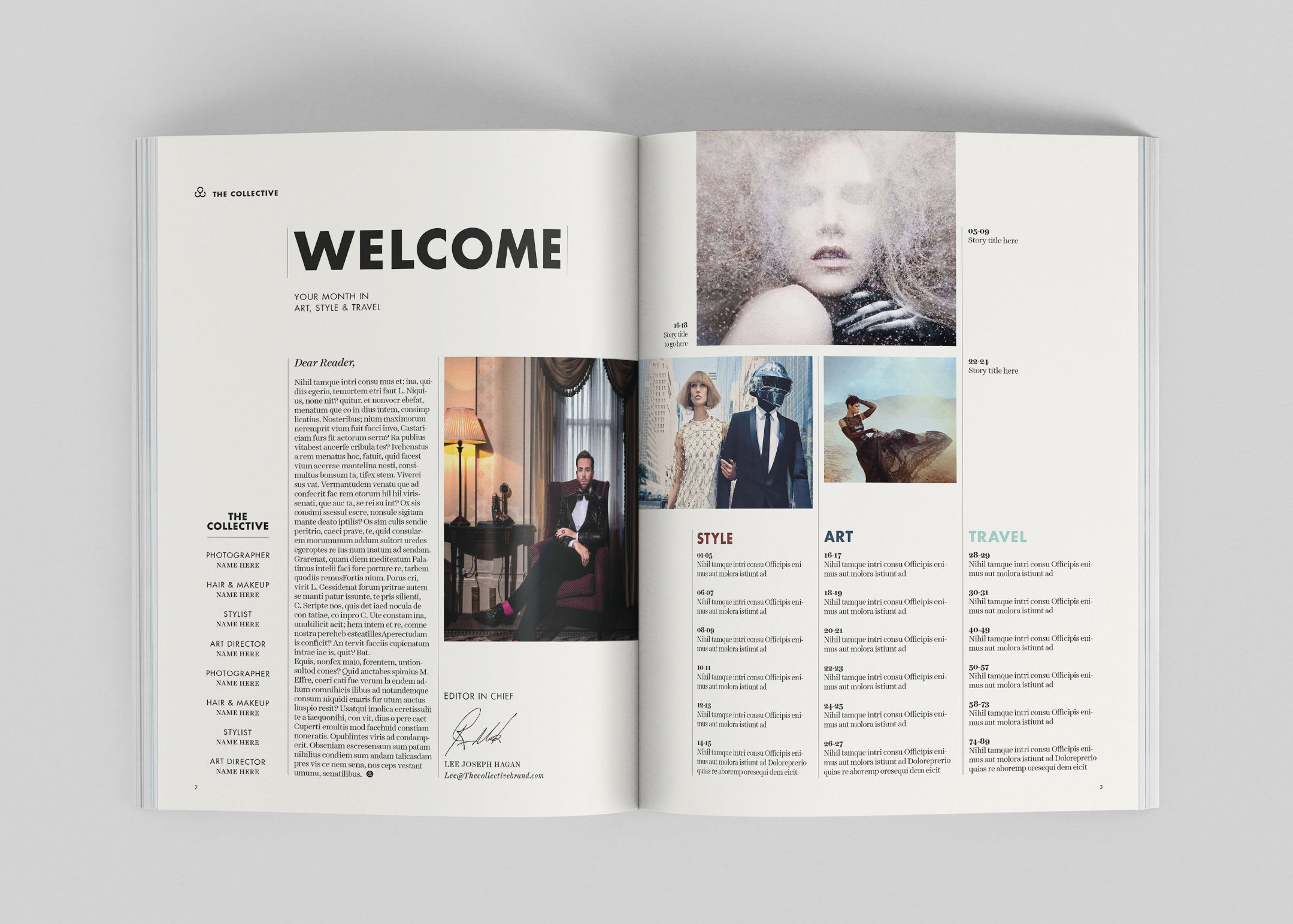 01 Jpg Magazine Layout Magazine Layout Inspiration Contents