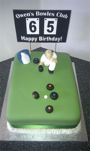 Crown Green Bowls Cake I Love This Cake So Simple But So