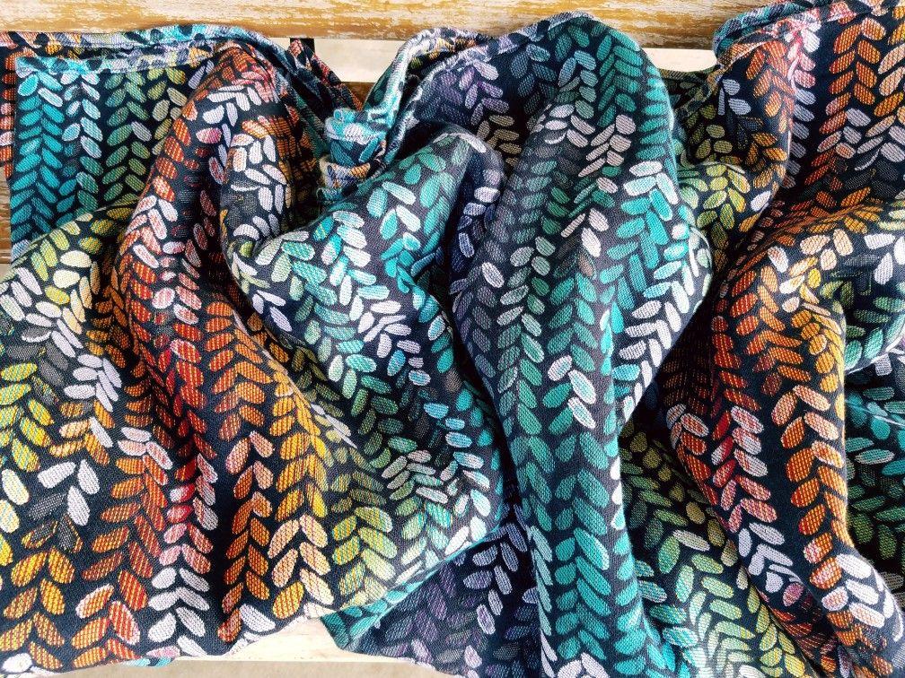 Woven Wings Stockinette Moonlit Lilypad Wrap 4   Woven Wings Wrap ... 1cde5b61899