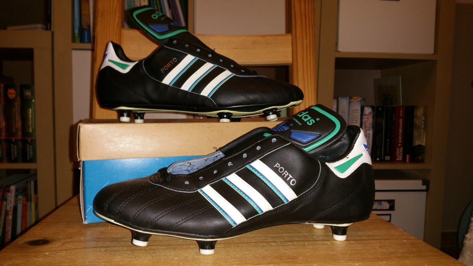 Adidas Porto Made in Germany Vintage 90s Fussball Schuhe Neu