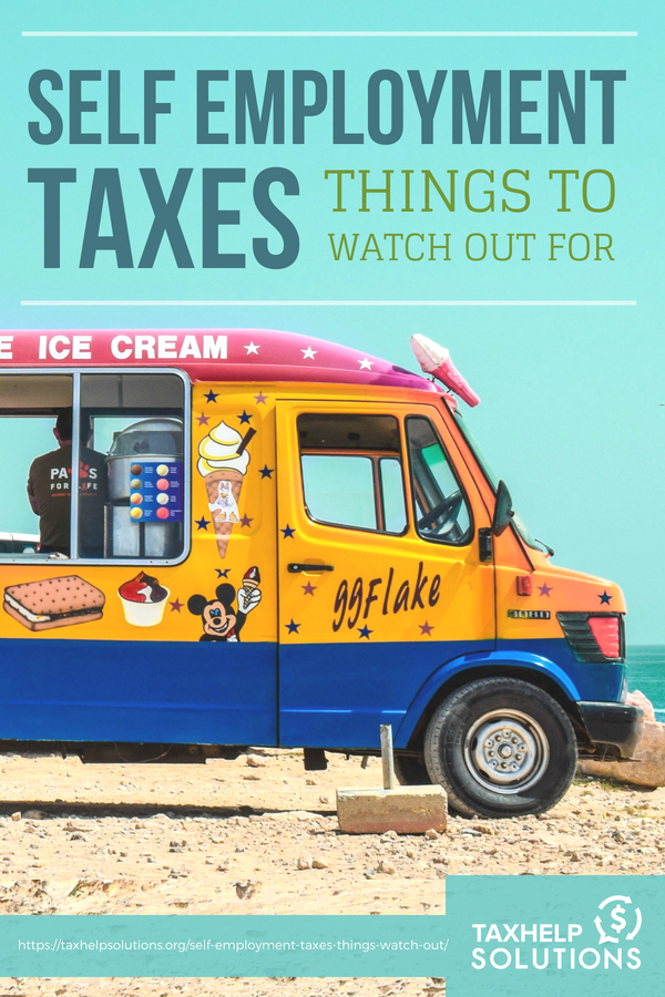 Self-Employment Taxes: Things To Watch Out For | #Tax Tips on deductible expenses for #business owners.