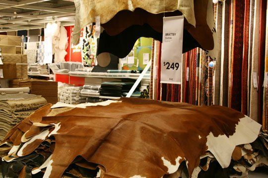 Brattby Cowhide Rugs From Ikea Cow Hide Rug