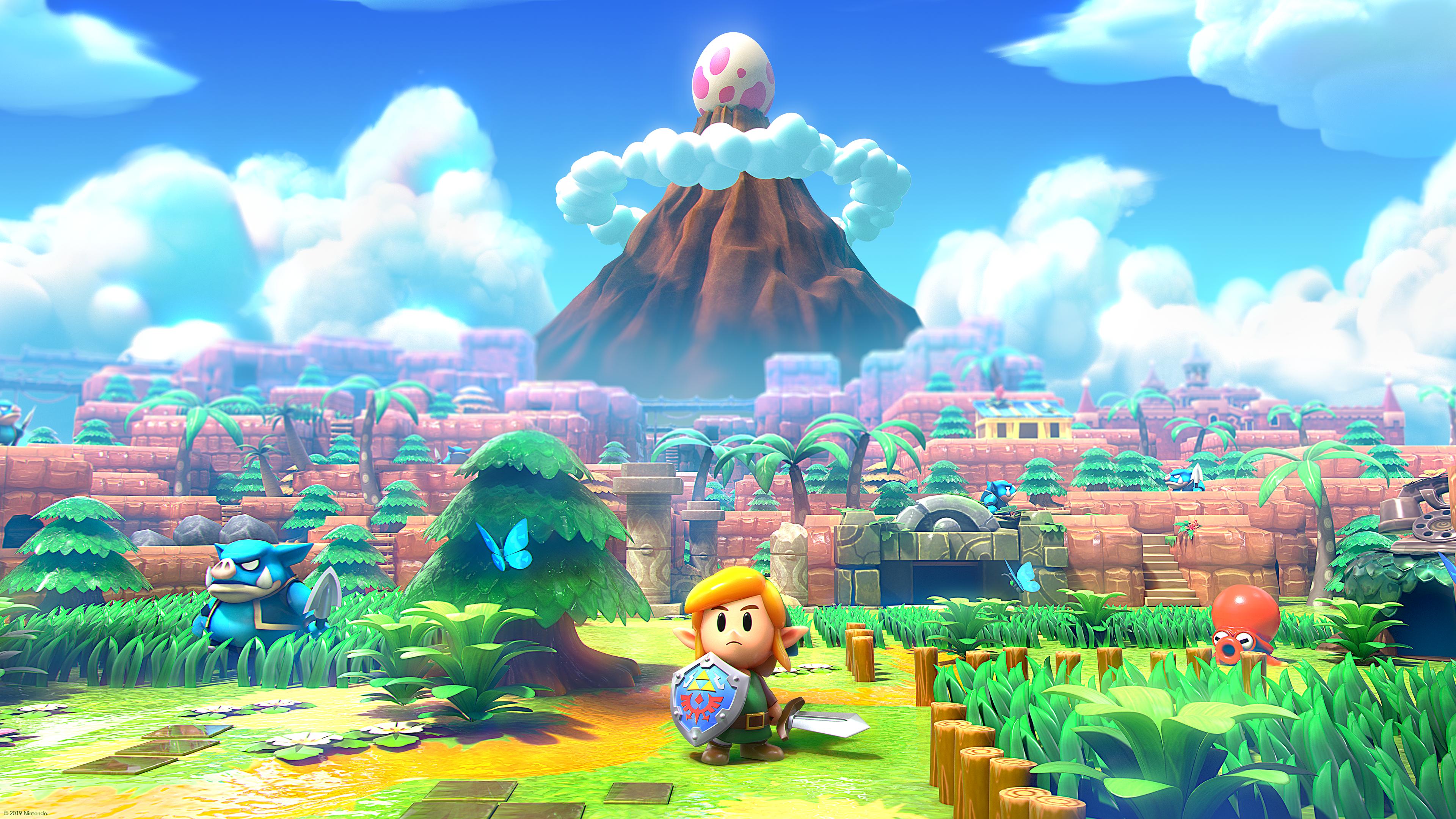 Zelda Link S Awakening Pc Wallpaper Legend Of Zelda Cool Art Wallpaper