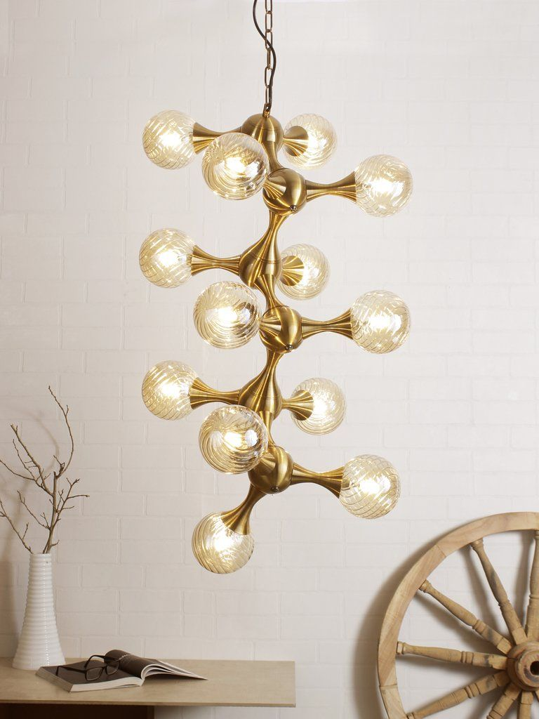 Ardeco Chandelier - Vintage style chandelier which add elegance and ...