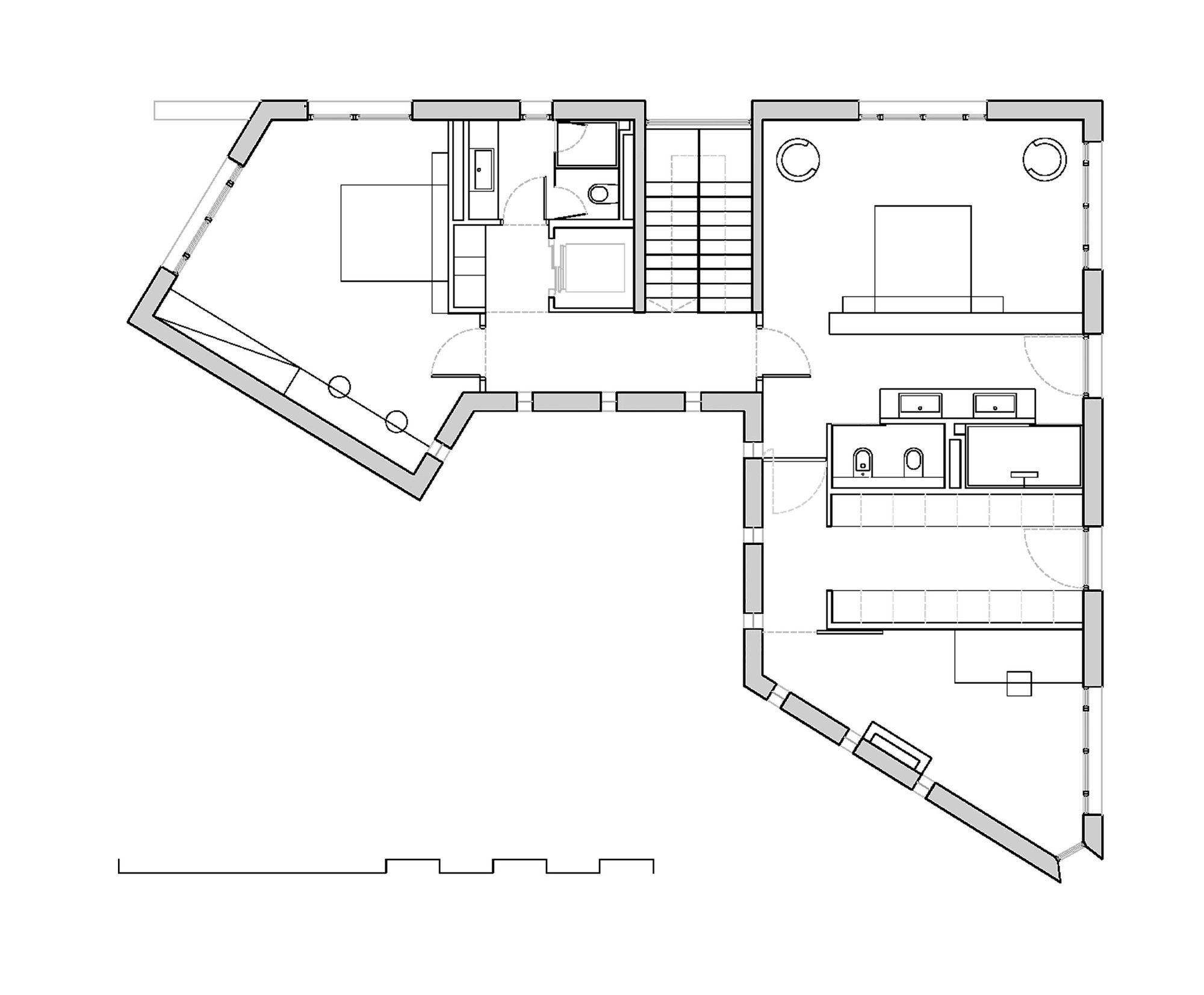 Galeria De Casa A 08023 Architecture Design Ideas 15 Architecture Design Architecture Floor Plans