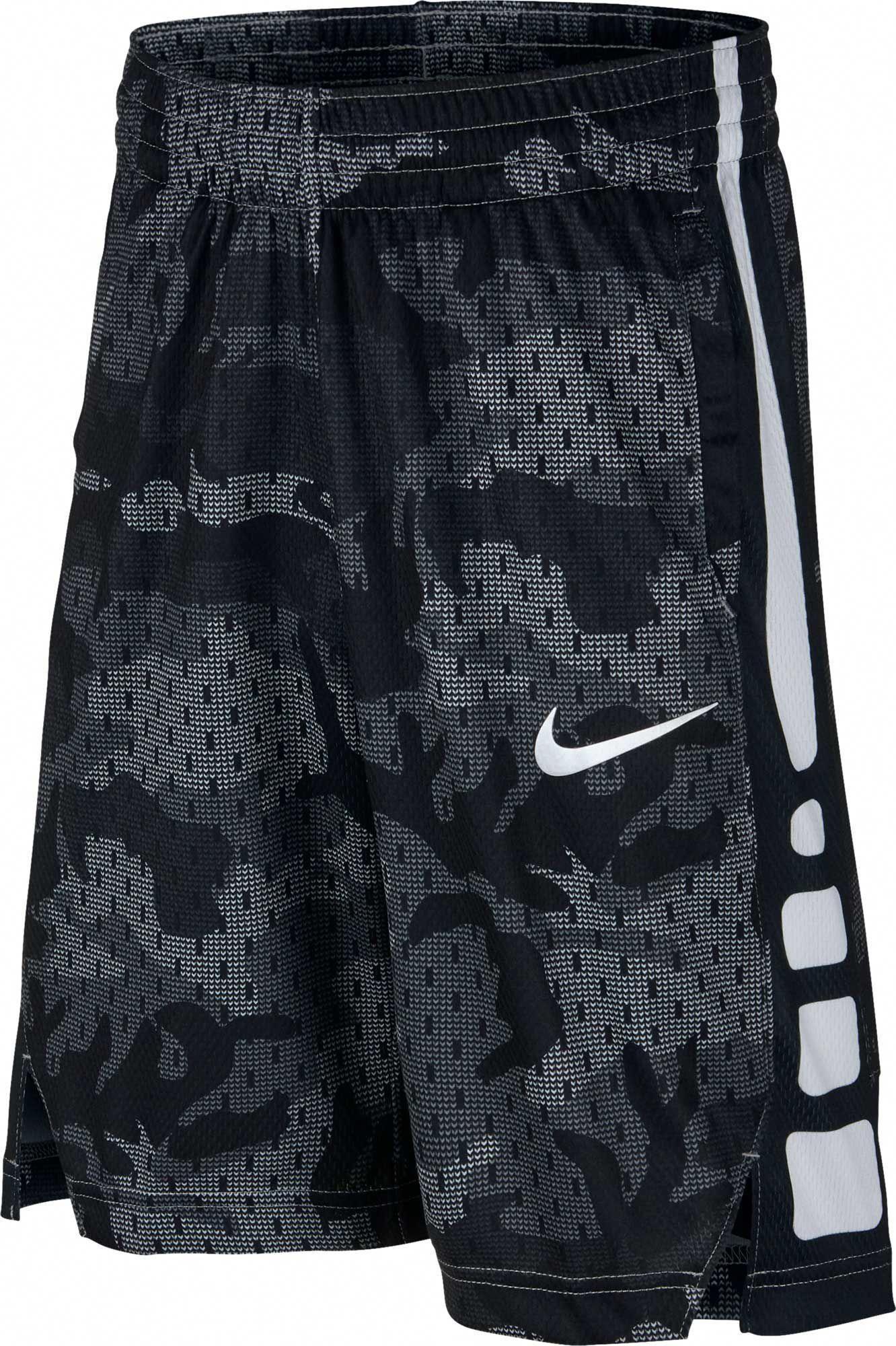 Nike Boys Dry Elite Camo Print Basketball Shorts Nike Basketball Shorts Basketball Shorts Basketball Clothes