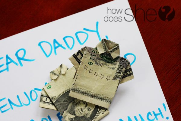 T-shirt Money! Perfect for Father's Day!